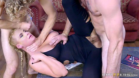 Sperm bank milf Phoenix Marie getting nailed