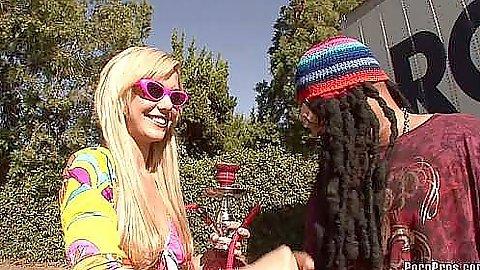 Misti Love is a hot hippie bitch
