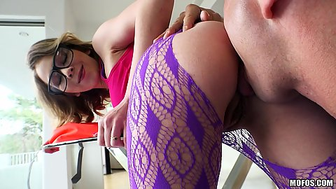 Angel Smalls loves to have her ass licked