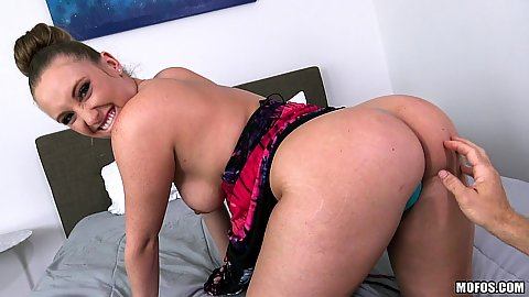Loving to touch and worship a bubble bootie Harley Jade
