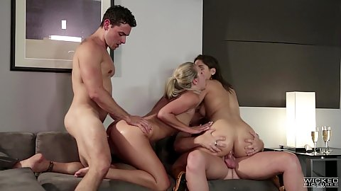 jessica drake and Scarlet Red with Abella Danger group office orgy fuck including anal