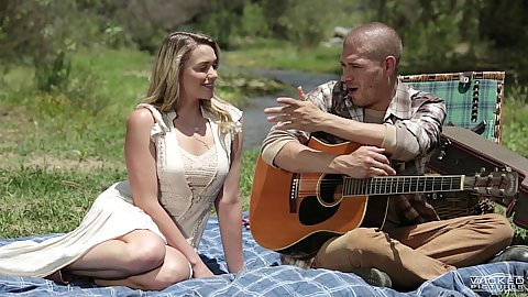 Preachers daughter on a picnic Mia Malkova