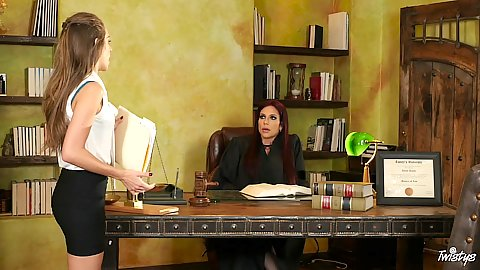 Office law offices of a judge with Jaclyn Taylor and Kimmy Granger