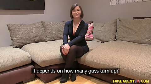 Salacious Jamie Ray enters audition and ready to go at it
