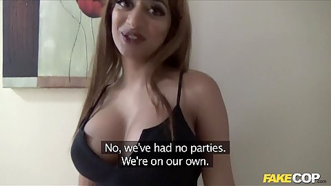 Busty Asia English not shy about cheating and showing her tits