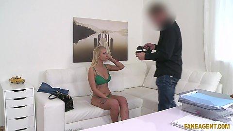 Bras and panties girl sitting getting video taken of her Alexis Bardot