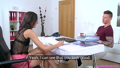 Playful Hannah Shaw wants him to strip