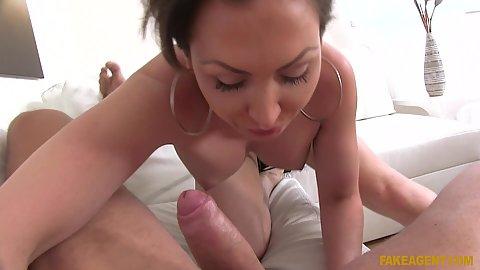 Sucking some dick with bombshell australian busty Yasmin Scott