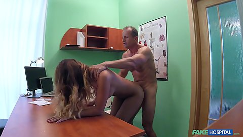 Bent over standing screwing with great naked girl Nicole