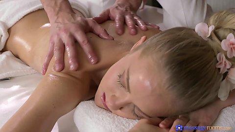 Teasing oil massage for naked girl Sicilia Crane