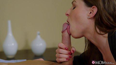 Sucking hard dick and then climbing on top Caroline Ardolino