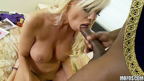 Milf relaxes and moans while fucked from back side