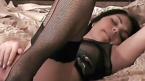 Sexy milf is loving herself with dripping wet pussy