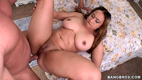 Sexy babes stroking cock and licking shaved pussy