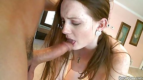 Redhead Holly loves getting forced to fuck