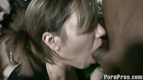 Kasey and her friends stroke cock for a facial