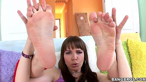 Dana Dearmond is here for Magical feet