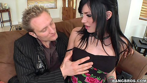 Andy San Dimas offering her sexy natural tits