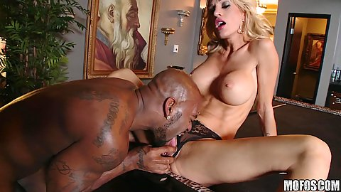 Big tits milf hungry for some black loving dicks