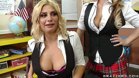 Big tits in school and its the Chess club