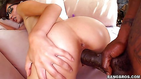 Damn Cocos pussy finally streched for that cock
