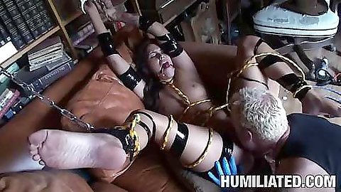 Tasia Banx cant stop the forcefull pussy penetration