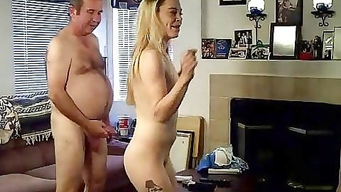 Dude is fucking chick playing playing the Wii