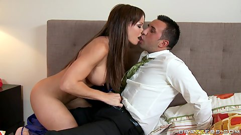 Rhylee fucks husbands assistant at work