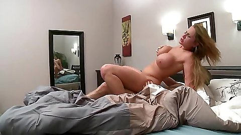 Alanah Rae spreading reverse cow girl fuck