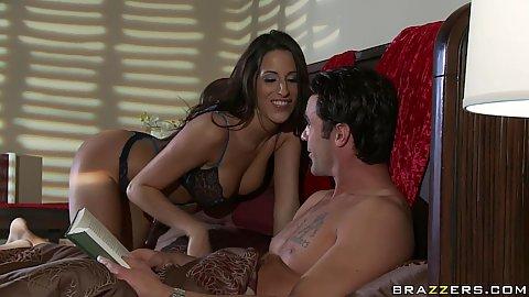Real wife stories Kortney seduces her husband