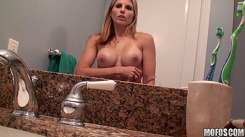 Pervs on patrol hot dirty blonde gf filming herself