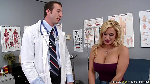Big tits doctor Shyla Stylez comes in for check up