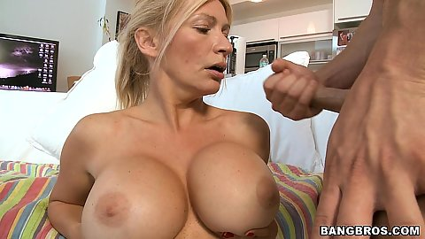 Wiping the dead clean all over Ingrid Swenson cummed face