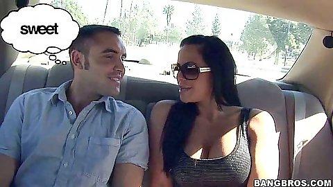 Hot slut Savannah and Daniel on a date