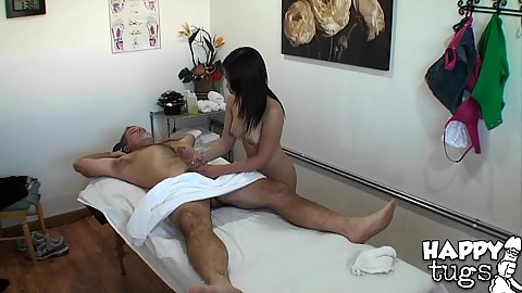 Asian massage with a bonus
