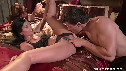 Hot natural horny milf Shazie spreads her legs