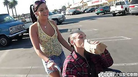 Ivy winters and an old fart in parking lot