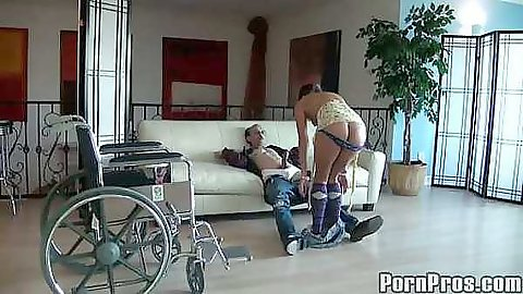 Ivy winters get pussy licked by old men