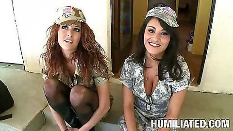 Cum disgrace Charley Chase and a cute friend
