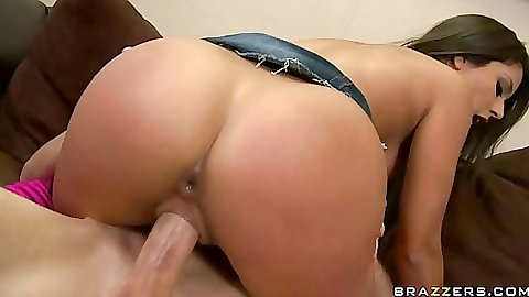Jynx riding cock cowgirl and sprading her asshole