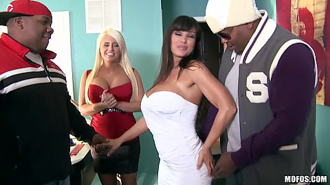 Hot milfs come for some big black dick