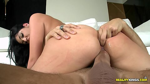 Jada sitting on cock and doggy fucked