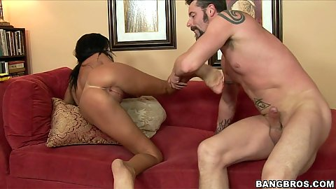 Doggy style fucking a super hot babe Tanner mayes
