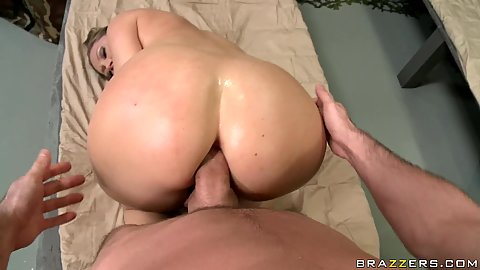 Devon gets doggy fucked anal oiled up ass