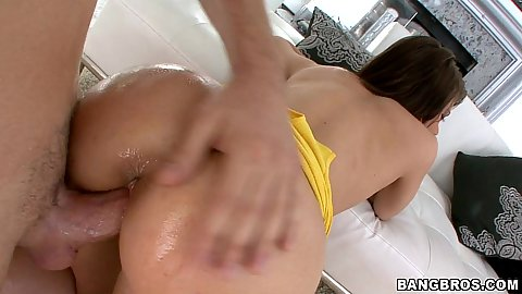 Doggy style penetration Brittney Banxxx from the rear