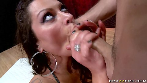 Ass to mouth and back plowing her anus