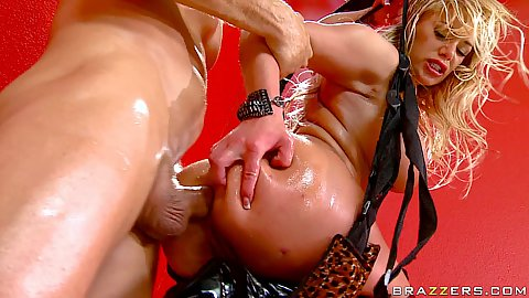 Sex swing anal and ass to mouth with Shyla Stylez