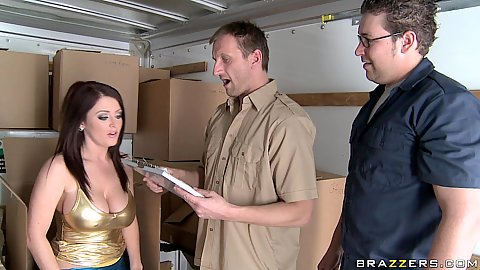 Big butts like it big with Sophie Dee in office