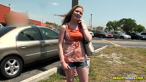 Hot streetblowjobs babe picked up