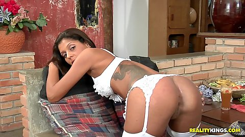 Hot latina Rafayla is a fucking Brazilian beauty